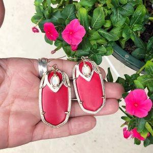 Kendra Scott Darby Earrings in Red